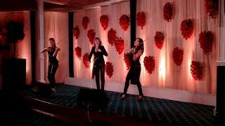 violin girls performing live @ grand hotel kolkata