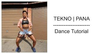 Tekno - Pana (Dance Tutorial Video)   Chop Daily