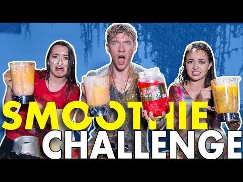 SMOOTHIE CHALLENGE w the Merrell Twins Collins Key