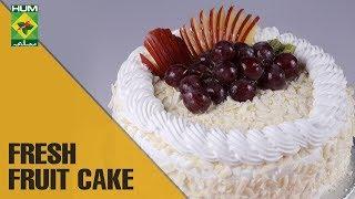 Fresh Fruit Cake | Evening With Shireen | Masala TV Show | Shireen Anwar