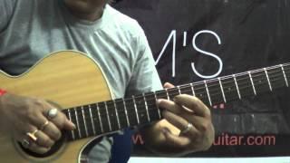 Te amo (Dum Maro Dum) Guitar Lesson reprise intro :www.tamsguitar.com