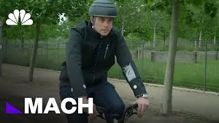 A Smart Jacket That Could Make Riding Safer For Cyclists | Mach | NBC News