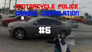 Motorcycle Police Chases Compilation #6 - FNF