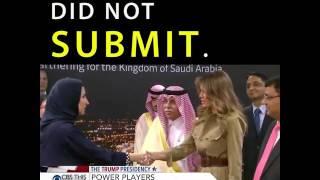 Arab News: Melania Trump 'Classy and Conservative' in Saudi Arabia
