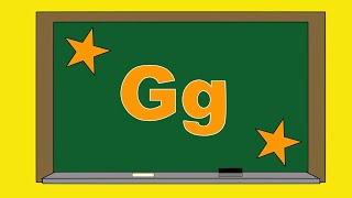 Learning ABC Alphabet letter G - Now I Know My ABCs - ABC Learning