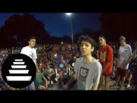 KLAN & REPLIK vs TRUENO & UNDERDANN FINAL 2VS1 11 12 El Quinto Escalon