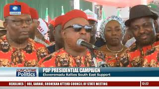 Ekweremadu Rallies South East For PDP As Accord Party Intensifies Campaign In Imo