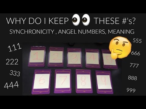 Xxx Mp4 WHY DO I KEEP SEEING THESE NUMBERS 111 222 333 👀synchronicity ✨PICK A CARD READING✨ ♡NicLoves 3gp Sex