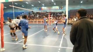 Pakistan wapda vs Navy Volleyball National championship 2014