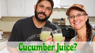 Can We Drink 30 Cucumbers A Day?
