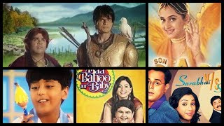 Top 10 Old Comedy & Action TV Serials Of India