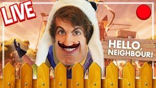 Hello Neighbour LIVE! (coz i'm a sp00ky boi)