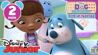 Doc McStuffins: Toy Hospital | Bye Bye Bouncy Boo-Boos | Disney Junior UK