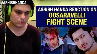Oosaravelli Telugu Movie Interval Fight Scene | Jr NTR | Vidyut Jamwal | Reaction By Ashish Handa