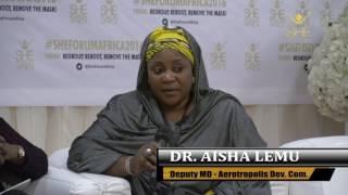 Dr  Aisha Lemu@She Forum Africa2016