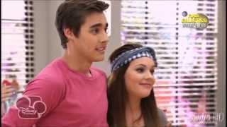 Violetta 2 - Violetta y León ensayan y llegan Lara y Diego (Capítulo 64)