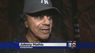 Flames Engulf Hollywood Hills Home Of Singer Johnny Mathis