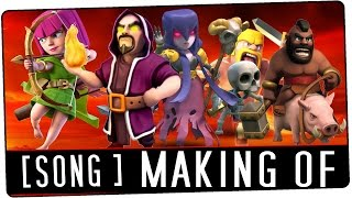 Clash of Clans Making Of Interview | Free Single Download | Jonas und Hubi