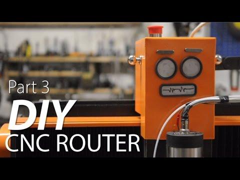 Fixed Gantry CNC Router Build Part 3