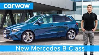 New Mercedes B-Class 2019 - see why it's a larger, more practical A-Class
