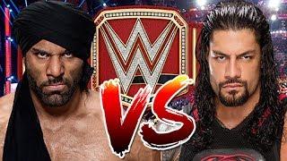 WWE RAW 2K17 - Roman Reigns vs Jinder Mahal - WWE Universal Championship Match
