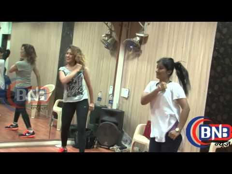 Munmun Dutta  Babita  dance rehearsal video