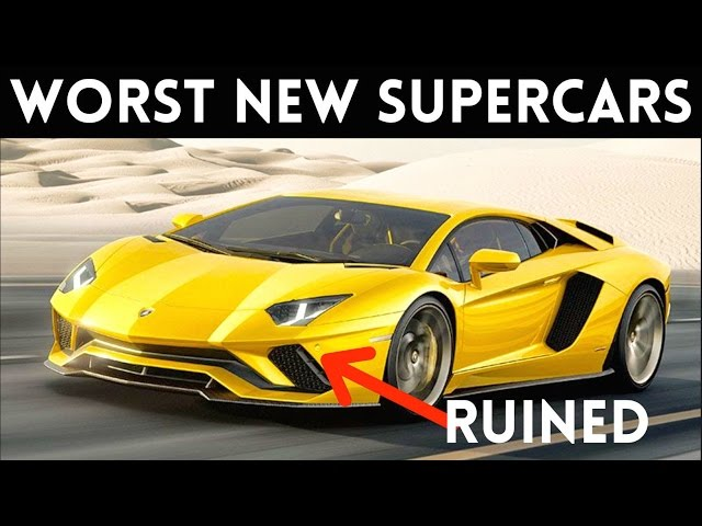 5 New Supercars You'd Be Stupid To Buy!