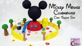 Mickey Mouse Clubhouse Cake Topper Set - FUN HOW TO