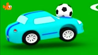 Cartoon Cars PLAY ROOFBALL! - Cartoon Compilations for kids - Children