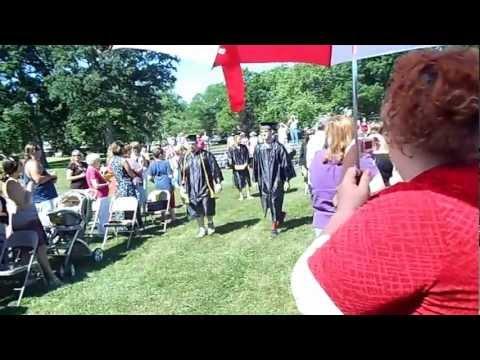 Ryan's Graduation South Seneca High School Ovid, NY 2012 part 1 of 5
