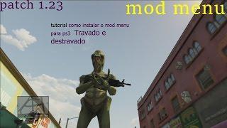 Tutorial - como instalar o mod menu no ps3 (travado e destravado) + download e teste do mod 2017
