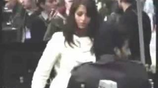 Aishwarya rai dancing on the set of Pink Panther-2