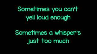 Marianas Trench - Burning Up (Lyrics)