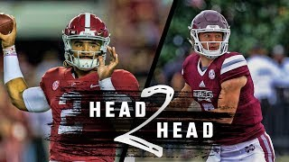 Head to Head: Alabama vs. Mississippi State
