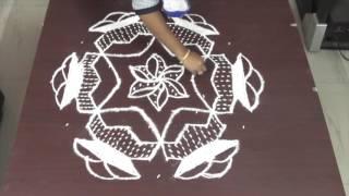 Pongal kolam rangoli designs || Simple Easy Pongal kolam rangoli || muggulu designs easy rangoli