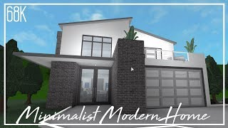 ROBLOX | Welcome to Bloxburg: Minimalist Modern Home