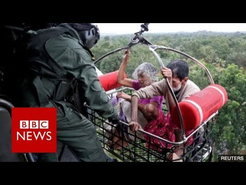 Xxx Mp4 India Floods Rescue Operation In Kerala Flooding BBC News 3gp Sex