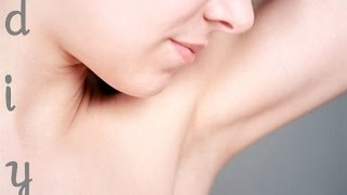 How to get rid of dark underarms naturally!