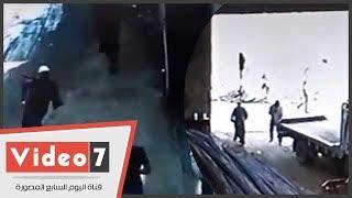 فيديو خطير .. لحظة مقتل كاهن كنيسة  المرج
