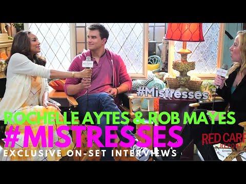 Rochelle Aytes & Rob Mayes
