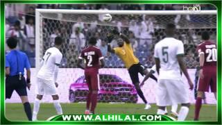 ملخص مباراة السعودية 1 : 2 قطر - نهائي خليجي22