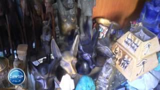 حورس إله الحب من التماثيل الفرعونية القديمة