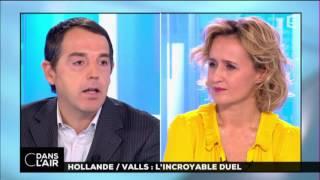 Hollande/ Valls : l'incroyable duel #cdanslair 29-11-2016