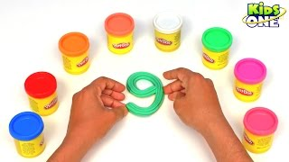 Learn to Count 1 to 10 Numbers with Play Doh for Kids