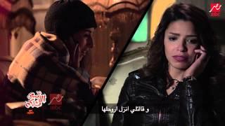 """أبو حفيظة يقلد دنيا سمير غانم بأغنية """" لسعة شتاء"""""""
