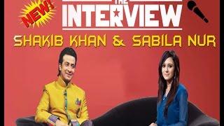Shakib khan & Sabila Nur Interview  | Bangla Funny Interview | Anti - 42zErO