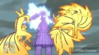 Naruto vs Sasuke|Du hast-Rammstein|Batalla final.