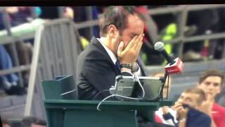 Denis Shapovalov disqualified for HITTING umpire in face!!! | TENNIS DAVIS CUP