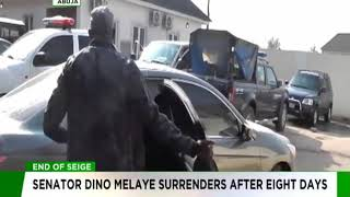 Dino Melaye surrenders to Police after eight days