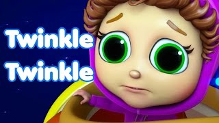 Twinkle Twinkle Little Star Space Race | Learn Shapes | Songs for Baby
